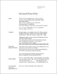 Word 2007 Resume Templates Word Resume Template This Is Word Format ...