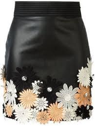 <b>TEAEGG</b> Slim <b>Plus Size</b> 4XL High Waist Leather Skirt Famale Mini ...