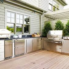 Stainless Steel Outdoor Kitchen Kitchen Awesome Outdoor Kitchen Cabinets Home Depot With