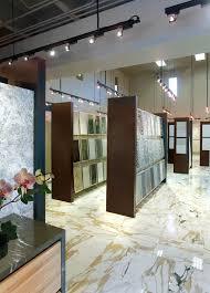 Tiles Showroom Design Ideas Opustone Ft Lauderdale Showroom With Paonazzo Marble Floors