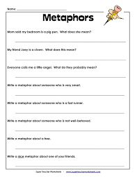 Image result for metaphor worksheet 3rd grade | Classroom ...