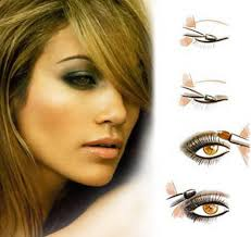 skin cosmetics pictranslator brown eye makeup for blonde hair