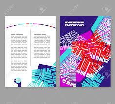 2 Folded Brochure Template Flyer Leaflet Booklet Layout Editable Design Template A4
