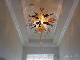 ac led hallway amber colored glass chandelier ceiling crystal lamp hand blown glass chandelier lamp colored glass chandelier ceiling crystal lamp for dining