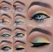 fresh makeup with summer makeup tutorial with bright eye makeup tutorial top10weekly