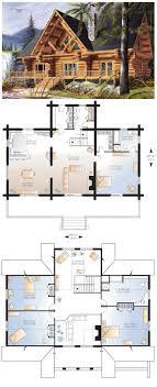 Love U2026  Pinteresu20264 Bedroom Log Cabin Floor Plans