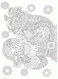 Our online coloring books are a great way to great way to. Santa Christmas Coloring Pages For Adults Coloring Pages Printable Com