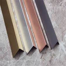 home decor protection metal stainless steel tile trim mirror or hairline surface