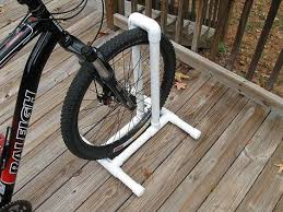 diy bike stand clothing shoes