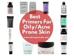 best primers for oily acne e skin
