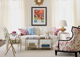 Printed Chairs Living Room Matisse Chic Living Room Ethan Allen