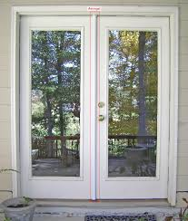french doors exterior. Exterior French Doors Incredible Door Lpd Nuvu White Pane Two Sides Frame Ideas Lowes M