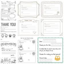 printable thank you card template printable thank you cards for kids to write hands on as we grow