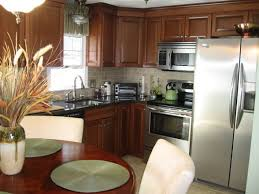 kitchen traditional ideas subway tiles backsplash black concrete countertop gray cabinets african mahogany wood dining furniture