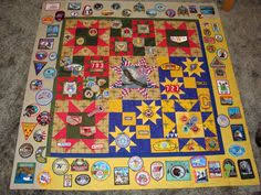 <b>Custom</b> made Eagle Scout Boy Scout quilt by WithAGrandmasLove ...