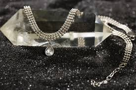 Серебряный <b>чокер</b> с камнем, дизайнер <b>Waves</b> & <b>Gems</b> ...
