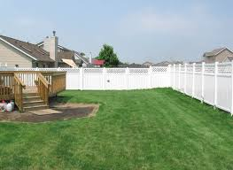 vinyl fence designs. Vinyl Fence Building As Landscape Designs Design Ideas