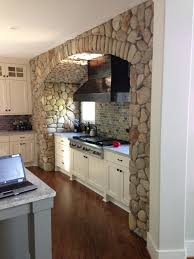 Wine Cellar In Kitchen Floor Create That Perfect Interior Stone Accent In The Kitchen Wineroom