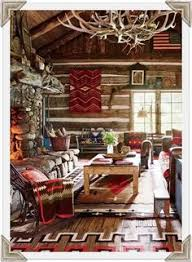 wall hangings dress up a log home see our cabin inspirations section on lights find this pin and more on rustic room ideas