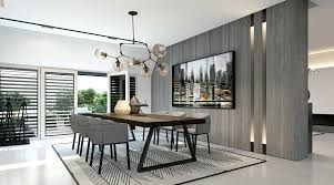 modern dining room chairs the fabulous grey wall color paint amusing throughout modern black dining table