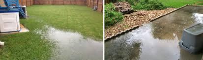 Backyard Drainage Problems  Solutions  Gill Landscape NurseryDrainage In Backyard