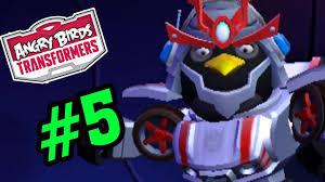 Angry Birds Transformers #5 - Bạn Đồng Hành Bom Samurai - Chim ...