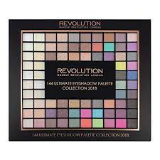 makeup revolution london ultimate 144 eyeshadow palette 2018 multi color 116g at low s in india amazon in