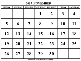 2017 november calendar download print calendars from free