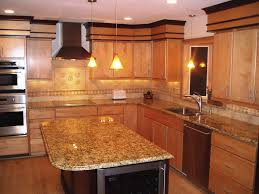 Colors Of Granite Kitchen Countertops Oak Kitchen Cabinets With Granite Countertops Granite