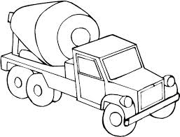 Truck Coloring Page Truck And Trailer Coloring Truck Coloring Pages
