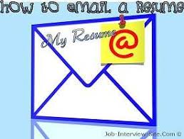 how do you email a resumes emailing a resume how to email a resume how to send a resume by email