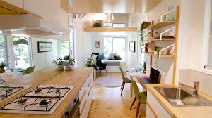 tiny home furniture. This Midcentury-Inspired Tiny House Radiates Clever Design Home Furniture G