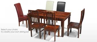 chunky dining table and chairs jali sheesham  cm chunky dining table and  chairs