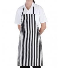 kitchen apron. standard bib kitchen apron closeout