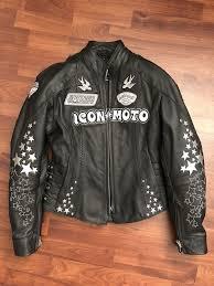 icon women s leather motorcycle jacket