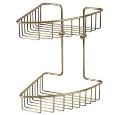 <b>Полка</b>-решетка угловая двухэтажная 20х20 <b>см Veragio</b> Gifortes ...