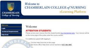 Chamberlain Technical Support Chamberlain Student Portal