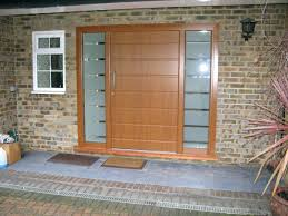 frosted glass front door single wooden front doors with frosted glass panels for house design with