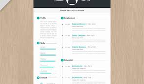 Cool Resume Templates Clean Cv Resume Cool Resume Templates For