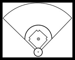 Baseball Field Template Printable Free Blank Baseball Field Diagram Download Free Clip Art