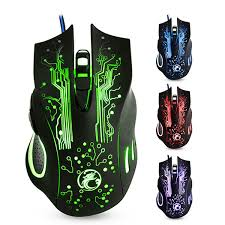 2019 Original <b>IMICE</b> X9 USB <b>Wired Gaming Mouse</b> 6 Buttons ...