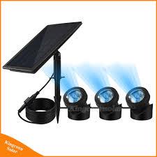 Underwater Solar Led Lights Hot Item Solar Pond Lights Waterproof Spotlight Solar Powered Landscape Lights Solar Underwater Light