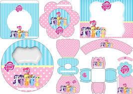 Small Picture My Little Pony Free Printable Mini Kit anniversaire My Little