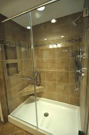 shower pans for tile showers architecture making a fiberglass pan on site awesome diy custom making a shower pan