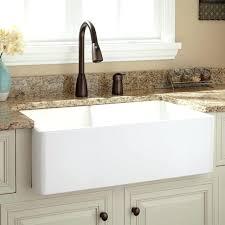 33 farm sink double bowl farmhouse sink smooth a contemporary kitchen 33 inch white fireclay farmhouse 33 farm sink