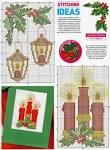 Схемы вышивки новогодние открытки