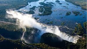 Victoria falls is a town in the western portion of zimbabwe, across the border from livingstone, zambia, and near botswana. Zambia Reopens Victoria Falls After Two Month Closure Cgtn