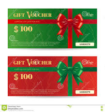 elegant christmas gift voucher or gift card template shiny elegance christmas gift card or gift voucher template shiny royalty stock images