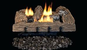 superior bark vent free gas log set with dual yellow flame burner lvdtb vd24 18 logs