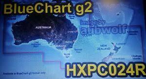 Details About Garmin Bluechart G2 Australia New Zealand Hxpc024r Blue Chart Map Boat Fishing
